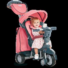 Explorer 5-in-1 Baby Dreirad - Rot