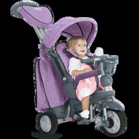 Explorer 5-in-1 Baby Dreirad - Lila