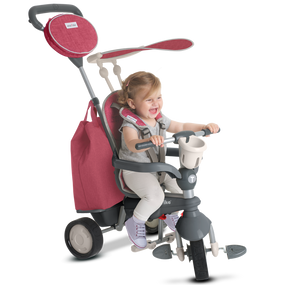Voyage 4-in-1 baby Dreirad - Rot