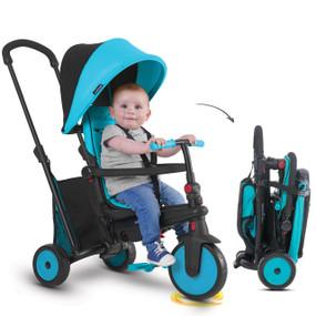 smarTfold 300 Plus Folding Trike - Blue