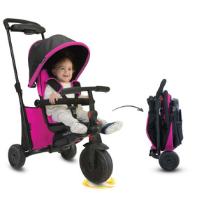 smarTfold 500 Folding Trike - Pink