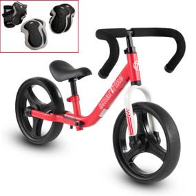 Folding Balance Bike - Rot