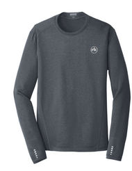 Ogio Endurance Long Sleeve Pulse Crew in Grey