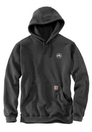Carhartt Midweight Hooded Sweatshirt in Carbon Heather