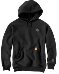 Carhartt Rain Defender Paxton Heavyweight Hooded Sweatshirt in Black