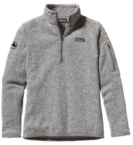 Patagonia Ladies 1/4 Zip Fleece in Birch