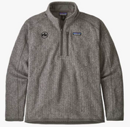 Patagonia Mens Better Sweater Rib Knit 1/4 Zip in Stonewash
