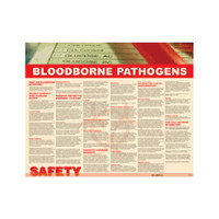 Bloodborne Pathogens Safety Poster