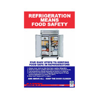 Refrigeration Safety Poster