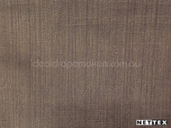 Nettex Dalton Mocca (MG5)  | Curtain Fabric - Brown, Plain, Synthetic, Domestic Use, Standard Width