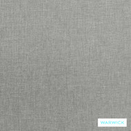 Warwick Astral Gyro Glacier  | Upholstery Fabric - Grey, Plain, Synthetic, Washable, Commercial Use, Halo, Standard Width