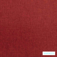 Warwick Astral Gyro Scarlet  | Upholstery Fabric - Plain, Synthetic, Washable, Commercial Use, Halo, Standard Width