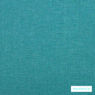 Warwick Beachcomber Lagoon    Upholstery Fabric - Plain, Beach, Synthetic, Turquoise, Teal, Washable, Commercial Use, Halo, Standard Width