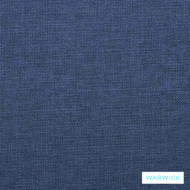Warwick Beachcomber Marine  | Upholstery Fabric - Blue, Plain, Beach, Synthetic, Washable, Commercial Use, Halo, Standard Width