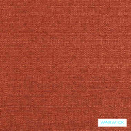 Warwick Bromley Vibe Flame  | Upholstery Fabric - Plain, Synthetic, Washable, Commercial Use, Domestic Use, Halo, Standard Width