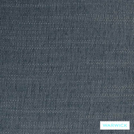 Warwick Jarvis Sky Blue    Upholstery Fabric - Blue, Plain, Synthetic, Washable, Commercial Use, Domestic Use, Halo, Standard Width