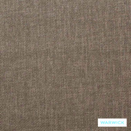 Warwick Keylargo Pumice  | Upholstery Fabric - Brown, Plain, Synthetic, Washable, Commercial Use, Halo, Standard Width