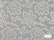 Black Edition - Elysian Wallcovering Glacier  | Wallpaper, Wallcovering - Grey, Floral, Garden, Botantical, Traditional, Metallic, Damask, Print