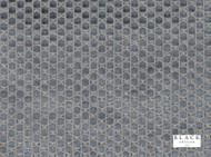 Black Edition - Orosi Twilight  | Upholstery Fabric - Metallic, Black - Charcoal, Eclectic, Geometric, Honeycomb, Small Scale, Synthetic, Velvet/Faux Velvet, Commercial Use