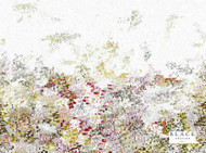 Black Edition - Breathe 4m Wallcovering Wild Flower  | Wallpaper, Wallcovering - White, Contemporary, Pink, Purple, Abstract, Domestic Use, Non-woven, White, Watercolour