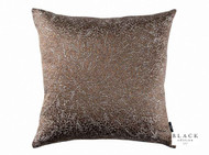 Black Edition - Jarali 50cm Cushion Copper  | - Brown, Damask, Deco, Decorative, Silk, Traditional, Cushion-Covers, Decorative Weave, Domestic Use, Standard Width