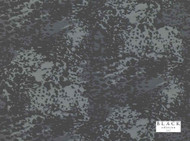 Black Edition - Loma Gunmetal  | Curtain Fabric - Black, Charcoal, Grey, Contemporary, Dry Clean, Silk Fabric, Abstract, Decorative, Natural