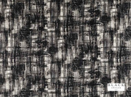 Black Edition - Jackson Charcoal  | Curtain & Upholstery fabric - Black, Charcoal, Contemporary, Dry Clean, Velvets, Abstract, Print, Fibre Blend