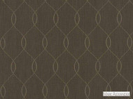 Mark Alexander - Ogee Grey Mist  | Curtain & Upholstery fabric - Brown, Linen and Linen Look, Mediterranean, Natural Fibre, Ogee, Domestic Use, Embroidery, Natural