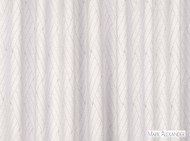 Mark Alexander - Barbier Silvershell  | Curtain Fabric - White, Basketweave, Geometric, Natural Fibre, Silk, Transitional, Domestic Use, Natural, White, Wool - Wool Blend