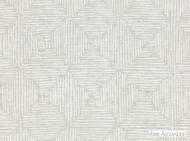 Mark Alexander - Malian Silverbirch  | Curtain & Upholstery fabric - Beige, Grey, White, Contemporary, Geometric, Natural Fibre, Abstract, Diamond - Harlequin, Domestic Use