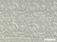 Mark Alexander - Amla Stonewash  | Curtain & Upholstery fabric - Linen/Linen Look, Grey, Traditional, Dry Clean, Natural, Rococo, Print, Natural Fibre