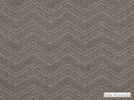 Mark Alexander - Calima Reversible Anthracite  | Curtain Fabric - Brown, Contemporary, Dry Clean, Reversible, Abstract, Chevron, Zig Zag, Natural