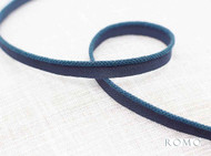 Romo - Alta Mini Lipcord Danube  | Flange Cord, Trim - Blue, Trimmings, Flange Cord, Fibre Blend