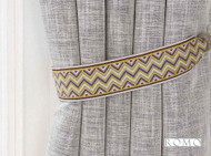 Romo - Marcel Tie Back Mulberry  | Tie back, Curtain Accessory - Fibre Blends, Pink, Purple, Domestic Use