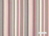 Romo - Sylvan Rose Quartz  | Curtain & Upholstery fabric - Washable, Pink, Purple, Red, Contemporary, Stripe, Dry Clean, Natural, Print, Natural Fibre