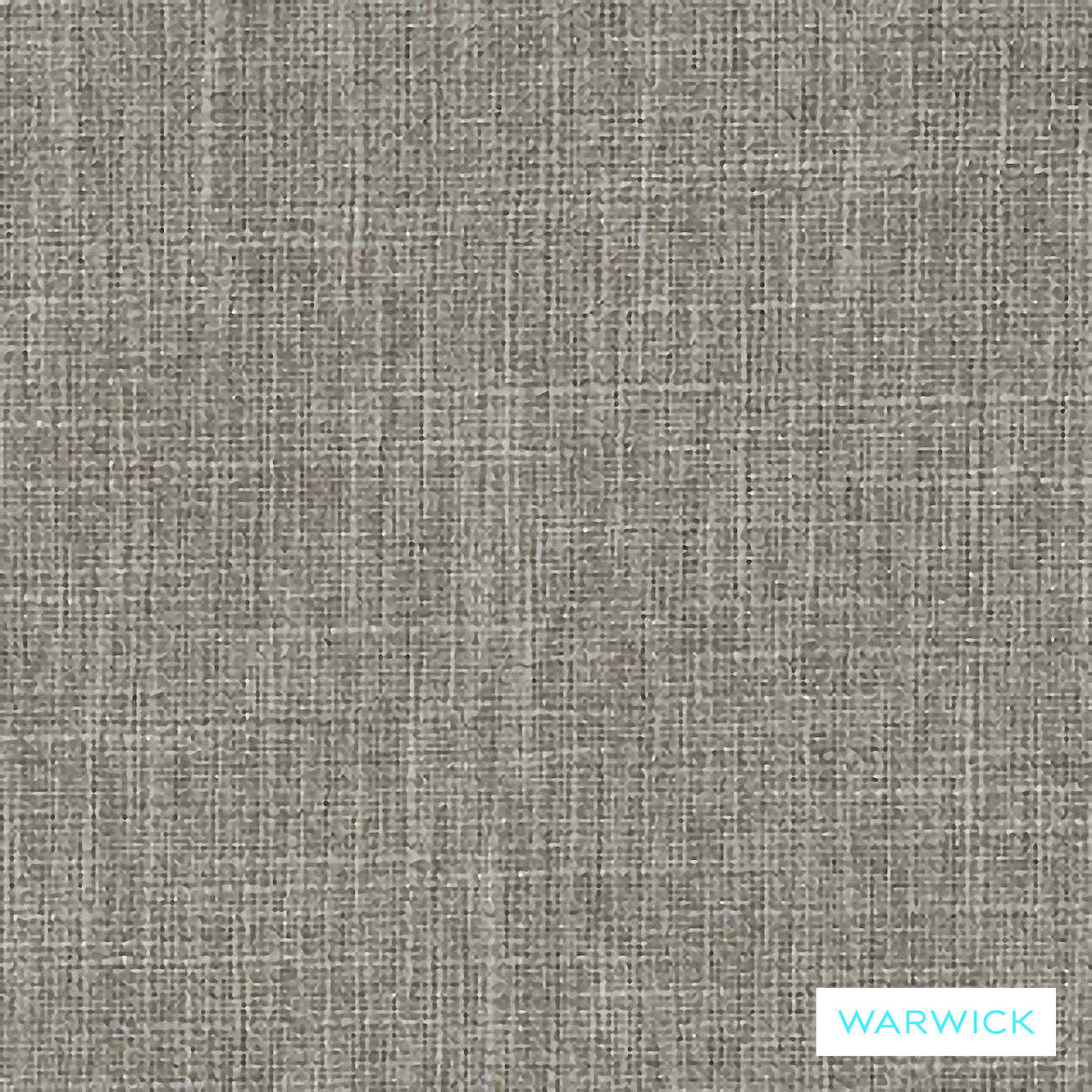 Warwick Matrix Pewter  | Upholstery Fabric - Brown, Plain, Synthetic, Washable, Commercial Use, Halo, Standard Width