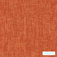 Warwick Matrix Terracotta  | Upholstery Fabric - Plain, Synthetic, Washable, Commercial Use, Halo, Standard Width