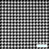 Warwick Monochrome Hockney Platinum  | Upholstery Fabric - Grey, Black - Charcoal, Geometric, Synthetic, Traditional, Washable, Commercial Use, Halo, Houndstooth, B&W