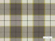 Romo - Bonham Pesto  | Curtain & Upholstery fabric - Green, Traditional, Dry Clean, Check, Plaid, Fibre Blend, Standard Width