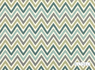 Romo - Scala Jade  | Curtain & Upholstery fabric - Washable, Green, Dry Clean, Geometric, Chevron, Zig Zag, Flame Stitch, Natural, Southwestern, Print