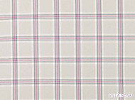 Villa Nova - Lewis Orchid  | Curtain & Upholstery fabric - Linen/Linen Look, Pink, Purple, Traditional, Dry Clean, Check, Natural, Plaid