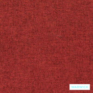 Warwick Oslo Garnet  | Upholstery Fabric - Burgundy, Plain, Red, Synthetic, Washable, Commercial Use, Halo, Standard Width