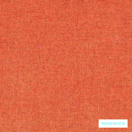 Warwick Oslo Paprika  | Upholstery Fabric - Plain, Synthetic, Washable, Commercial Use, Halo, Standard Width