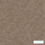Warwick Oslo Shale  | Upholstery Fabric - Brown, Plain, Synthetic, Washable, Commercial Use, Halo, Standard Width