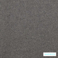 Warwick Richmond Augustus Wolf  | Curtain & Upholstery fabric - Brown, Plain, Fibre Blends, Transitional, Washable, Commercial Use, Standard Width