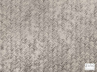 Zinc Textile - Chiringuito Mineral  | Curtain & Upholstery fabric - Brown, Dry Clean, Geometric, Metallic, Velvets, Herringbone, Print, Small Scale