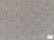 Zinc Textile - Snap Truffle  | Curtain & Upholstery fabric - Grey, Metallic, Contemporary, Deco, Decorative, Geometric, Synthetic, Decorative Weave, Domestic Use, Metal