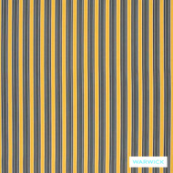 Warwick Seychelles Sunshine  | Curtain & Upholstery fabric - Gold,  Yellow, Eclectic, Marine Use, Outdoor Use, Stripe, Synthetic, Traditional, Washable, Bacteria Resistant