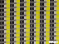 Kirkby Design - Marylebone Lime  | Upholstery Fabric - Gold, Yellow, Mid Century Modern, Stripe, Dry Clean, Geometric, Velvets, Fibre Blend