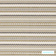 Warwick Shoreditch Hammersmith Nougat  | Upholstery Fabric - Beige, Eclectic, Fibre Blends, Geometric, Midcentury, Small Scale, Southwestern, Stripe, Washable, Domestic Use